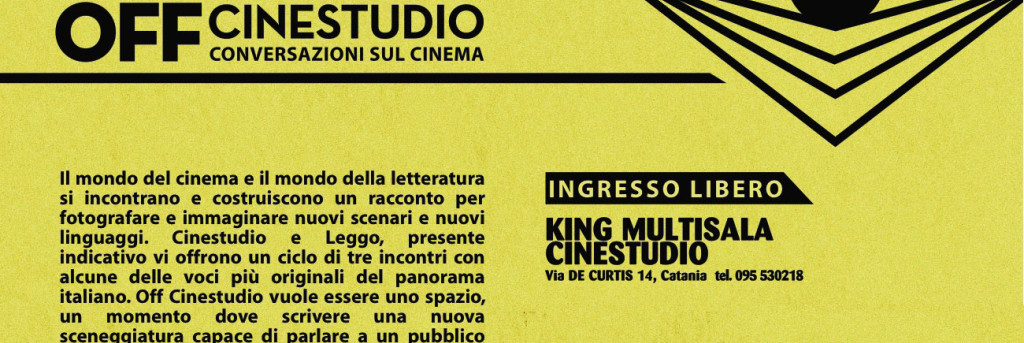 OFF Cinestudio, conversazioni sul Cinema