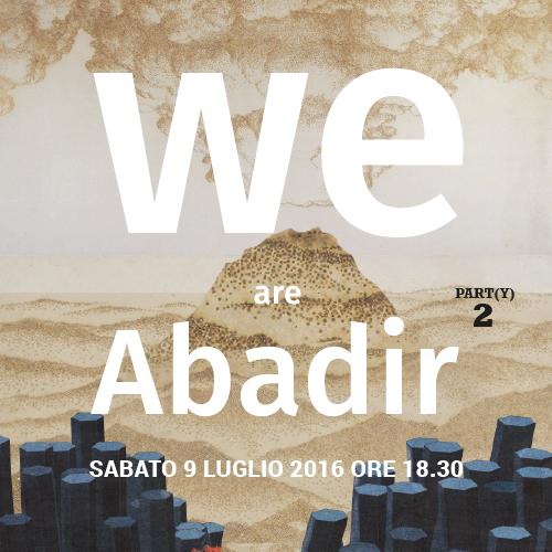 WE ARE ABADIR logo