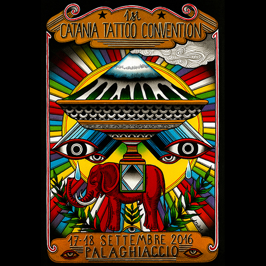 catania tattoo convention by rudy fritsch