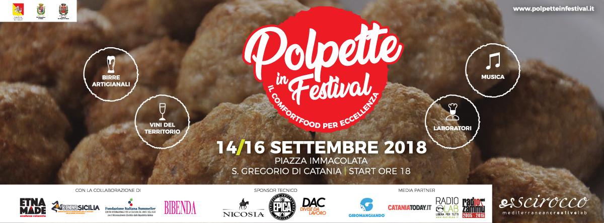 polpette in festival banner